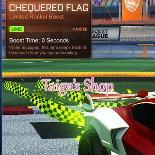 Lime Chequered Flag 😇 [NEW]
