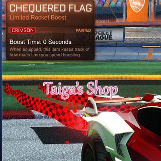 Crimson Chequered Flag 😇 [NEW]