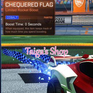 Cobalt Chequered Flag 😇 [NEW]