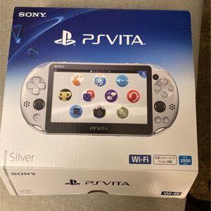 PlayStation Vita Wifi Silver Pch2000 ZA25