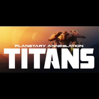 Planetary Annihilation: TITANS Steam Key GLOBAL