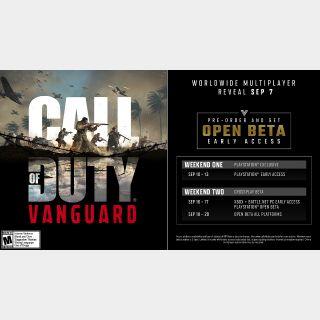call of duty vanguard beta codes