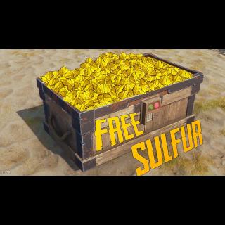 I will farm sulphur in RUST, blueprints, wood, stone, scrap, metal ore, traps & more⭐✔️