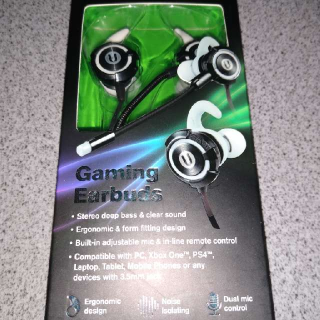 GAMING EARBUDS WITH MICROPHONE