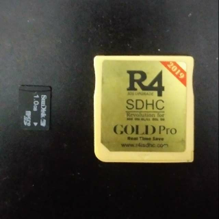 Nintendo DS / 3DS 2019 R4 Gold Pro with Games & SD Card