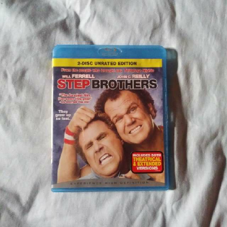 Step Brothers Unrated 2 Disc Blu-ray Edition.