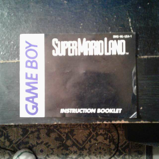 Super Mario Land Original Manual