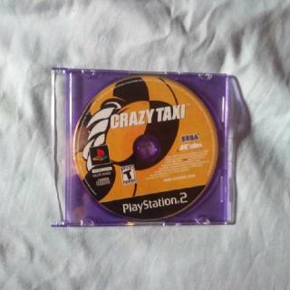 Crazy Taxi For PS2 (The Original)