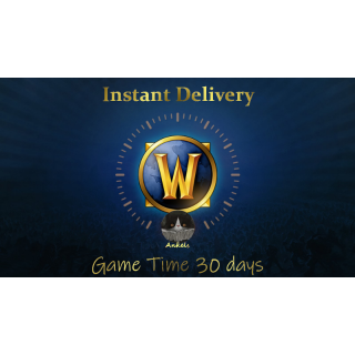 World of Warcraft - Game Time 30 days (WoW US)