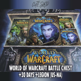 World of Warcraft Battle Chest 30 Days/ WOW / (BATTLE.NET KEY) REGION US