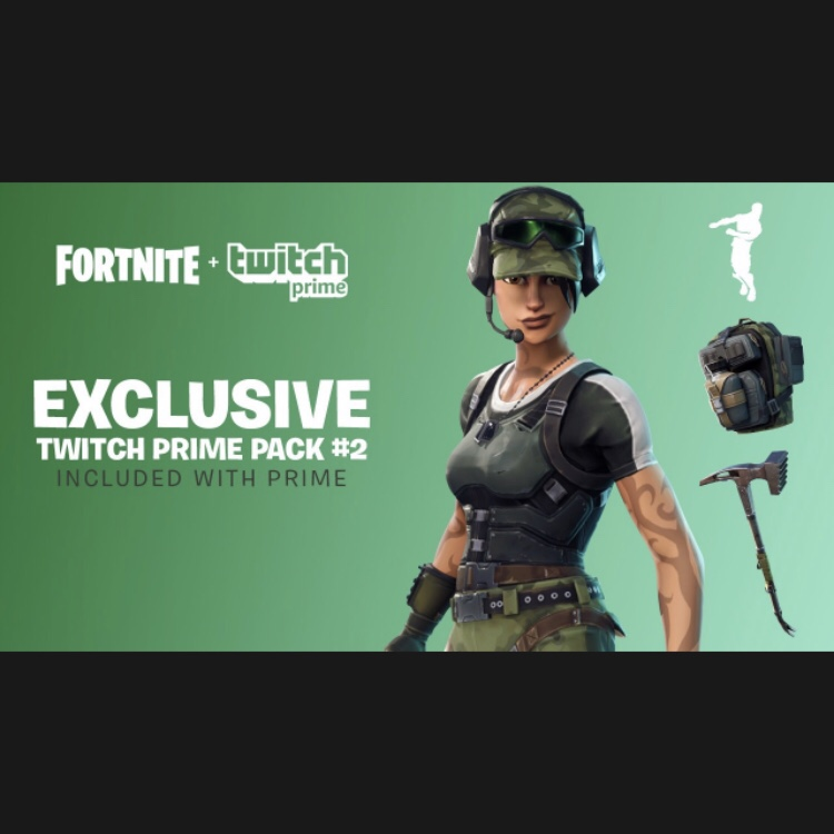 FORTNITE TWITCH PRIME PACK #2 FAST DELIVERY - Other