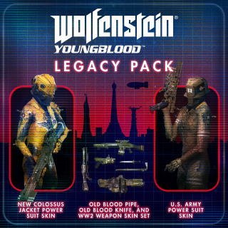 Wolfenstein Youngblood Legacy Pack DLC Xbox One