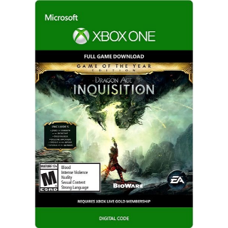 Dragon Age Inquisition GOTY Xbox One Download