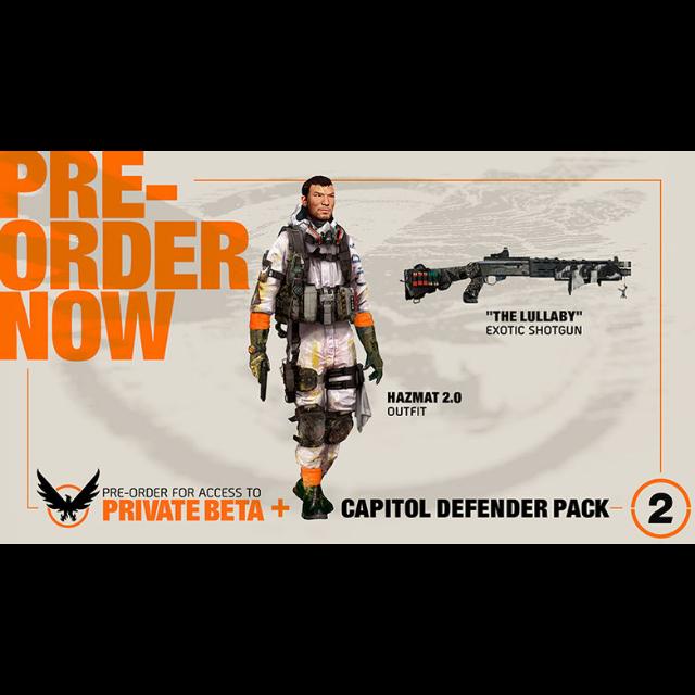Division 2 Beta + Capitol Defender Pack - XBox One Games - Gameflip