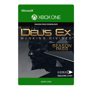 Deus Ex Mankind Divided Season Pass Xbox One