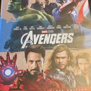 Avengers 4K with autographs