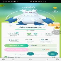 Bundle | Abomasnow 480 Cp Shiny✨