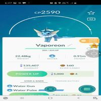 Vaporeon | 2590 Cp