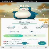 Snorlax | 2605 Cp
