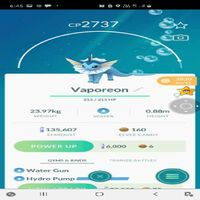 Vaporeon | 2737 Cp