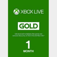 Xbox Live Gold 1 month (Latin America Region)