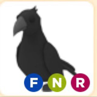 Pet Ride Fly Neon Crow Adopt Me Roblox In Game Items Gameflip