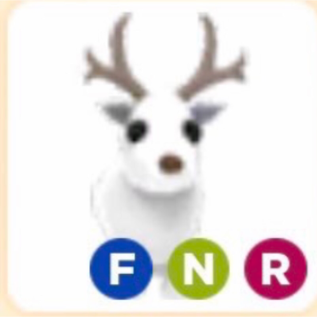 Pet Neon Fly Ride Arctic Reindeer And Crow Adopt Me Roblox In Game Items Gameflip