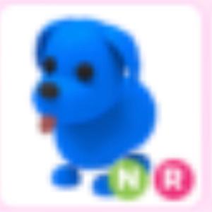 Pet | Neon Blue Dog NR