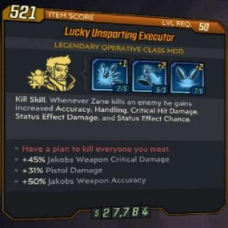 Class Mod   GR Zane Pistol Mod