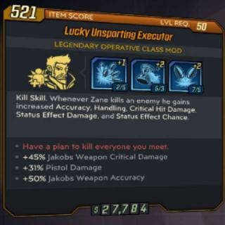 Class Mod   GR Zane Pistol Class Mod