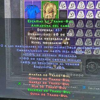 Sets   Trang-Oul Armor