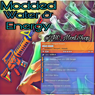 Grave Digger | Modded Energy + Water 💦