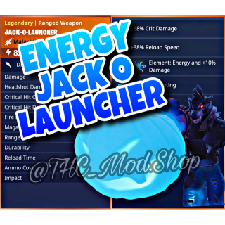 Jack O Launcher   Energy Jack O Launcher