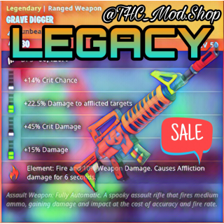 Grave Digger | Legacy 🔥FIRE🔥 Grave 🔥