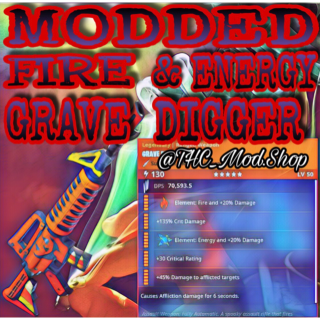 Grave Digger   Modded Fire & Energy 🌀