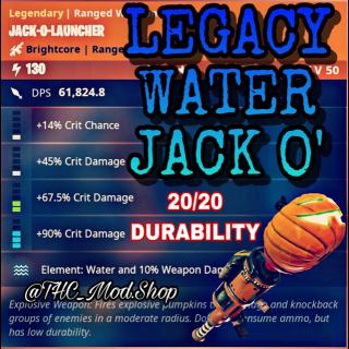 Jack O Launcher   Legacy Water Jack O 💦