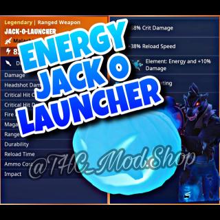 Jack O Launcher | Energy Jack O Launcher