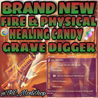 Grave Digger | Modded Fire + Physical