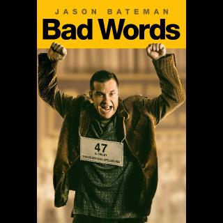 Bad Words | Actual HD Code (iTunes redeem) [INSTANT ...