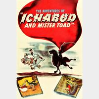 The Adventures of Ichabod and Mr. Toad [ HD ] ports MoviesAnywhere /Vudu | US- GooglePlay Code