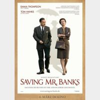 Saving Mr. Banks [ HD ] ports MoviesAnywhere /Vudu | US- GooglePlay Code