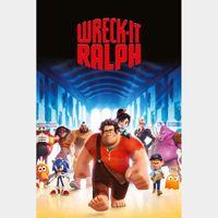 Wreck-It Ralph [ HD ] ports MoviesAnywhere /Vudu | US- GooglePlay Code