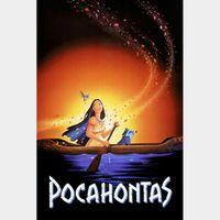 Pocahontas [ HD ] ports MoviesAnywhere /Vudu | GooglePlay Code