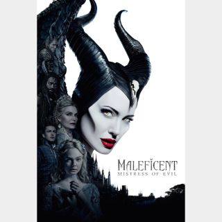 Maleficent: Mistress of Evil | HDx | GooglePlay | ports MoviesAnywhere /Vudu/iTunes/FN