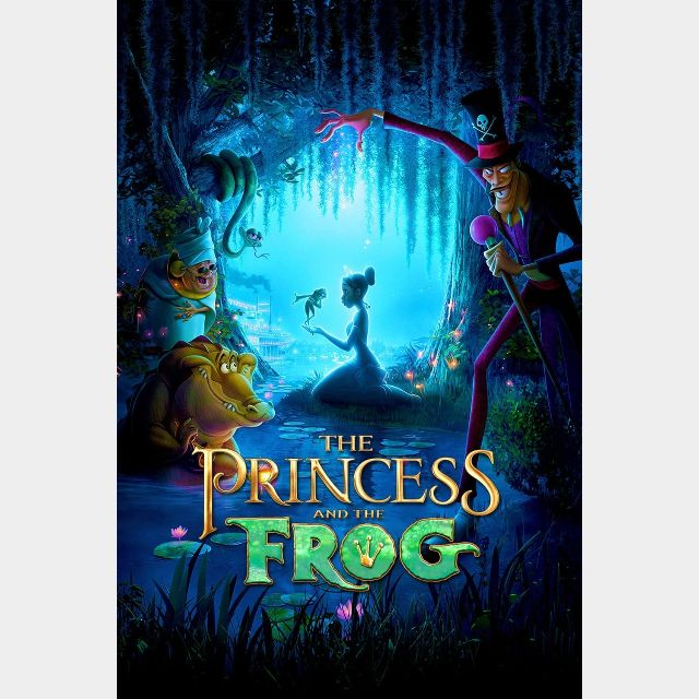 The Princess and the Frog 4K UHD | Actual 4K Code (MA ...