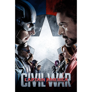Captain America: Civil War | HDx | MA/VUDU-redeem | ports all providers