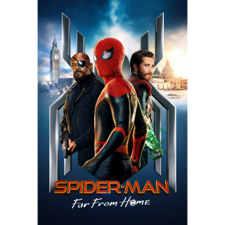 Spider-Man: Far from Home   4k   MoviesAnywhere   ports all providers