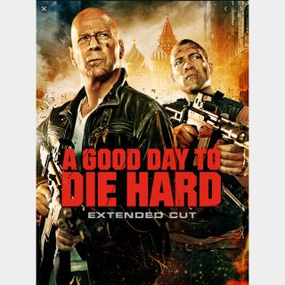 A Good Day to Die Hard [Extended Edition] 🔥🆓🔥 | HDx | MoviesAnywhere | ports Vudu/iTunes/GP/FN |