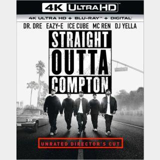 Straight Outta Compton🔥🆓🔥 | 4K UHD | iTunes code | ports MoviesAnywhere/Vudu