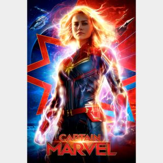 Captain Marvel | HDx | GooglePlay | ports MoviesAnywhere /Vudu/iTunes/FN